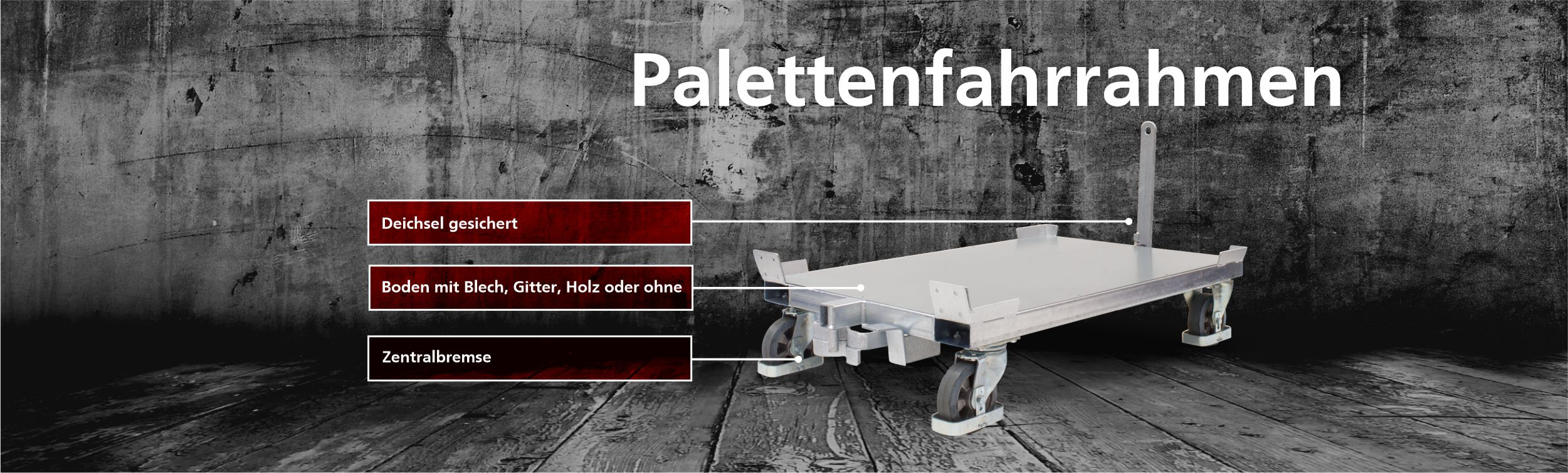 palettenfahrrahmen