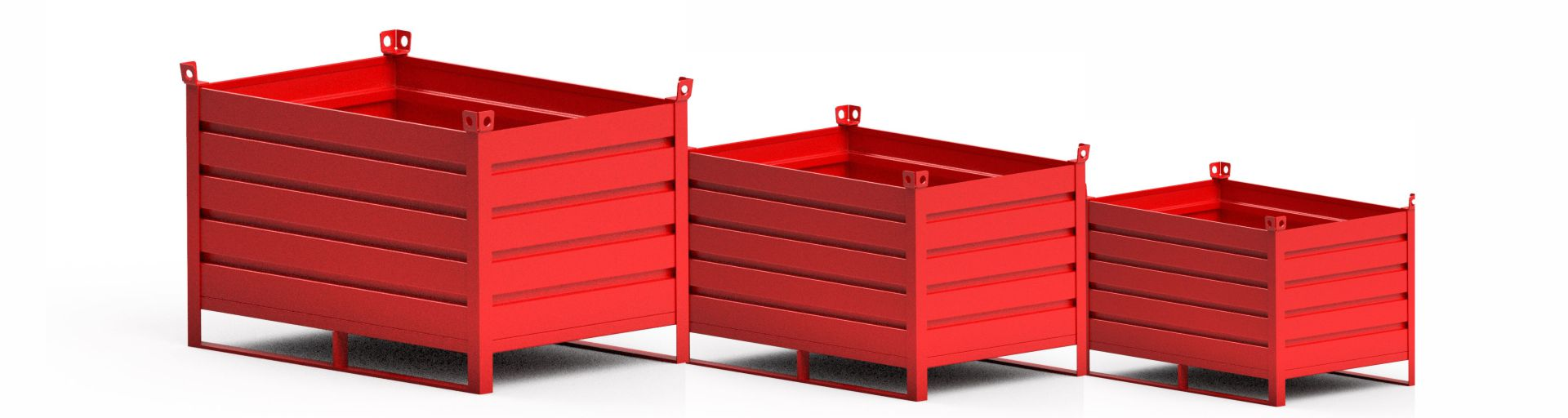 Sheet metal containers